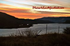 Sunset on the Columbia River Gorge