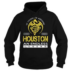 HOUSTON An Endless Legend (Dragon) - Last Name, Surname T-Shirt