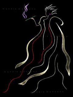 "Ribbon Art - ""Cruella De Vil, Cruella De Vil, if she doesnt scare you, no evil… Disney Art, Disney Pixar, Disney Kunst, Disney Images, Disney Villains, Disney And Dreamworks, Disney Girls, Evil Villains, Disney Animation"