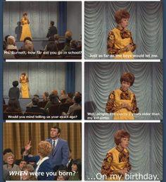 Pretty genius answers, Carol (;