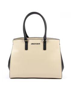 5dc6cf3efbbea Armani Jeans Womens Handbag Beige 922228 7P758 13155