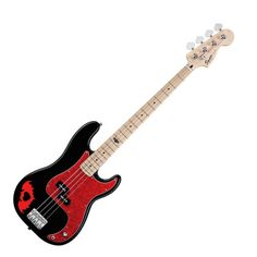 Squier Pete Wentz Bass-- mum bought this for me once& I got rid of it. I am a trash daughter.