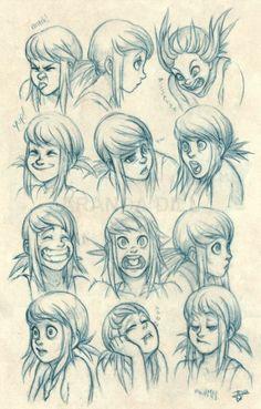 Facial Expressions   character