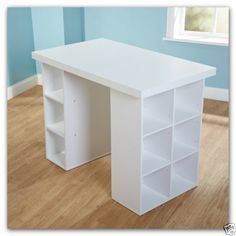 sauder homevisions white work table in 2019 flex seating craft rh pinterest com