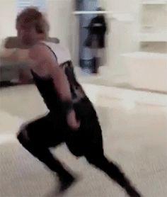 Michael randomly picking Calum up