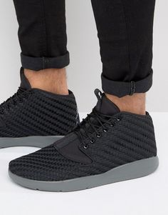 Get this Jordan s sneakers now! Click for more details. Worldwide shipping.  Nike Air Jordan Eclipse Chukka Trainers In Black 881453-001 - Black   Trainers by ... 515b88205