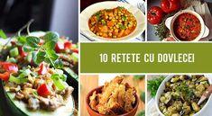 10 Retete cu dovlecei - sanatoase si gustoase! | Gourmandelle Vegan Recipes, Vegan Food, Ratatouille, Zucchini, Green, Veggie Food, Vegane Rezepte, Vegan Meals, Vegetarian Food