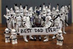 Best Dad Ever ... Jango Fett Clones Star Wars