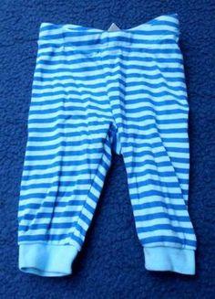 Kaufe meinen Artikel bei #Mamikreisel http://www.mamikreisel.de/kleidung-fur-jungs/hosen-hosen/24990985-hose-baumwolle-gestreift-blau-turkis-hm-56