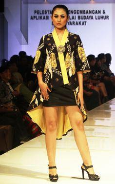 Gedangsari #09 | N-Style in #Yogyakarta #Fashion #Forecasting #2015 with #Batik created by junior high school students from the region Gedangsari, #Gunungkidul, Yogyakarta