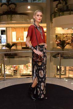 Barra Fashion Day 2015 - 2º Dia. Looks com as tendências Xadrez + Marsala. (15/04 - no 3º piso)