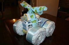 diaper 4-wheeler