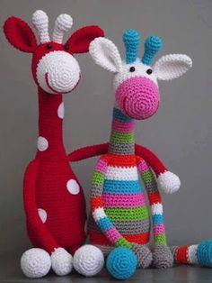 Girafa croche: AMIGURUMI