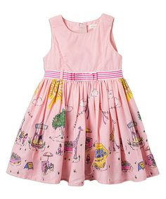 Another great find on #zulily! Iced Blossom Lemonade Stand Dress - Infant, Toddler & Girls #zulilyfinds