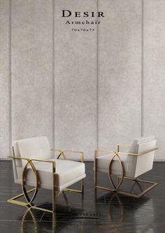 Desir 'Armchair - Studio Pont des Arts - Designer MONZER Hammoud - Paris