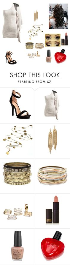 """""""The Twin Alpha's #17"""" by jazmine-bowman ❤ liked on Polyvore featuring Arden B., Boutique by Jamie, Capwell + Co, Daytrip, Kendra Scott, Lipstick Queen, OPI and Victoria's Secret"""