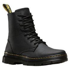701cab7584 Dr. Martens Combs 8-Eye Boot Waxy Coated Canvas Botas De Combate Del  Ejército