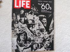 LIFE MAGAZINE the '60s DECADE OF TUMULT & CHANGE-JFK,BEATLES,MARILYN MONROE