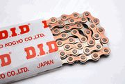 D.I.D Copper-Finish Single Speed Chains