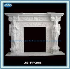 Stone Carved marble fireplace mantel White Fire Surround, White Fireplace Surround, Marble Fireplace Mantel, Marble Fireplaces, Fireplace Surrounds, Fireplace Mantels, Fireplace Stone, Stone Fountains, Stone Cladding