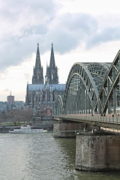 #koln #cathedral #bridge - more here: http://twistedredladybug.blogspot.com/2014/04/you-love-me-real-or-not-real.html