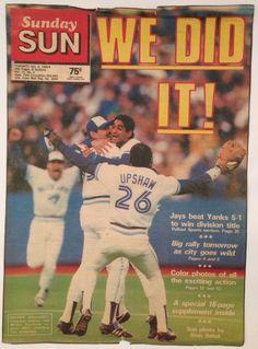 Ah, the memories! Sports Baseball, Sports Teams, Baseball Cards, Blue Jay Way, Go Blue, Sun Photo, Toronto Blue Jays, Raptors, Bowling