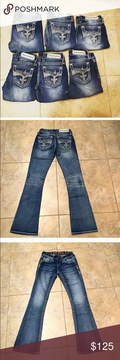 NWT ROCK REVIVAL LOW RISE BOOT CUT JEANS SIZE 29 NWT ROCK REVIVAL LOW RISE BOOT CUT JEANS SIZE 29 Rock Revival Jeans Boot Cut
