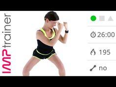 Total Body Cardio Senza Salti Con Esercizi Per Dimagrire e Tonificare - YouTube