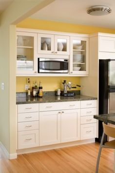 Cabinets, appliances, countertop and flooring will be similar to the ones in my new kitchen! Eee!