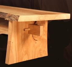 Custom Made Live Edge Maple Bonsai Stand With Mortise And Tennon Joinery Live Edge Furniture, Log Furniture, Handmade Furniture, Live Edge Wood, Live Edge Table, Farm Table With Bench, Wood Projects, Woodworking Projects, Wood Slab Dining Table