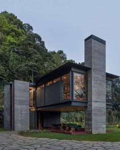 Modern Architecture House, Modern House Design, Amazing Architecture, Architecture Design, Loft Design, Casas Containers, House On Stilts, Modern Architects, Container House Plans
