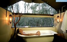 Glamping at Paperbark Camp in Woollamia, New South Wales | Luxury Camping NSW :)