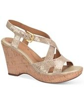 Sofft Vivien Platform Wedge Sandals