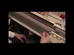 ▶ Burgundy Mohair Ribber Tuck Scarf - YouTube