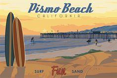 Giclee Printing of Pismo Beach