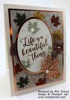 The Stamp Review Crew: Colorful Seasons Edition - The Stampin' Schach