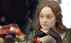 Even stodgy eras have romantic triangles. This Victorian story scripted by Emma Thompson stars Dakota Fanning as the teenage bride of famous art critic John Ruskin (Greg Wise) who gets involved with the Pre-Raphaelite painter John Everett Millais (Tom Sturridge). Premieres April 3 - Photo: Courtesy of © Metrodome Distribution