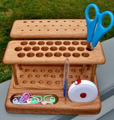 The Elite Crochet Hook Organizer Workstation by Chetnanigans