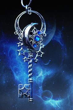 ☆ Moon and Stars Key :¦: By KeypersCove ☆
