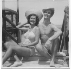 My parents in Malaya. My Childhood, Penguins, Family Photos, Bikinis, Swimwear, 1950s, Parents, England, People