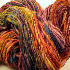 clown pants handspun yarn | Flickr - Photo Sharing!