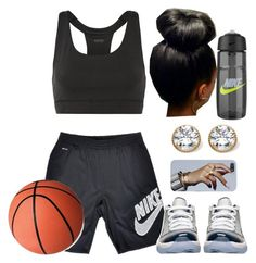 """""""#205"""" by missk2blue ❤ liked on Polyvore featuring NIKE, Yummie by Heather Thomson, Retrò and Palm Beach Jewelry"""