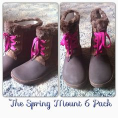 Who knew Crocs made Winter Boots? via The Spring Mount 6 Pack