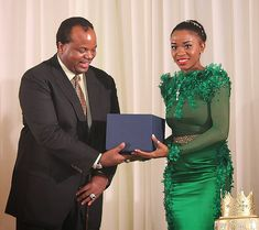 Her Royal Highness Princess Tiyandza Dlamini of Swaziland.  Princess Tiyandza is one of the King's daughters.