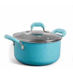 The Pioneer Woman Vintage Speckle 10-Piece Non-Stick Pre-Seasoned Cookware Set Image 5 of 40
