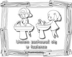 Kolorowanki - zasady zachowania - do pobrania - Pastelowe Kredki