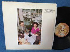RARE Vintage Led Zeppelin  Presence Vinyl LP by sweetleafvinyl