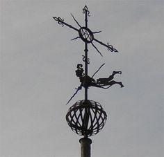 Veleta de la Iglesia de las Ursulas. Salamanca