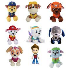 Hot sale pawed patroled dog cartoon plush dolls stuffed animal Everest/Robodog/Marshall/Rubble/Chase/Rocky/zuma/Skye/Ryder //Price: $US $3.99 & FREE Shipping //     #rchelicopters
