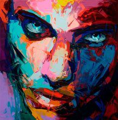 Las expresivas y vibrantes pinturas al óleo de Françoise Nielly